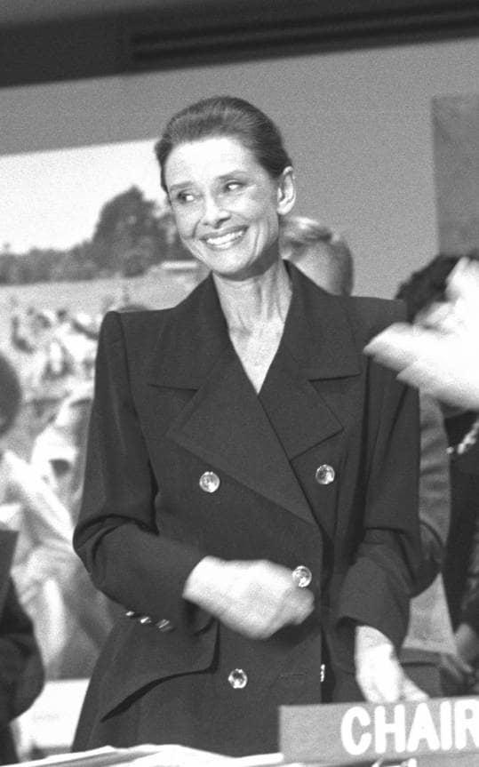 Audrey Hepburn solo