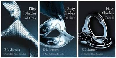 50 shades of grey trilogy covers