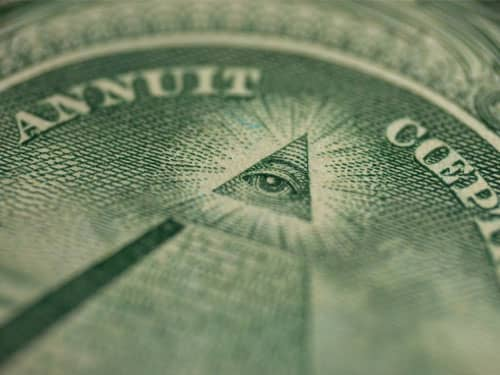 The All-Seeing Eye on the Dollar Bill