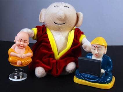 Buddha dolls