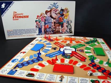 Funtastic Fitness board game