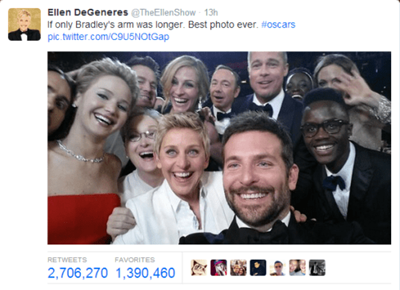 12 Life Lessons from Ellens Epic Oscar Selfie By Malayna