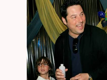 Greg Grunberg with son Jake