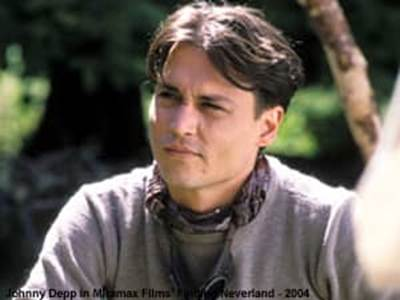 Johnny Depp in Finding Neverland