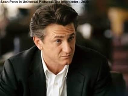 Sean Penn in The Interpreter