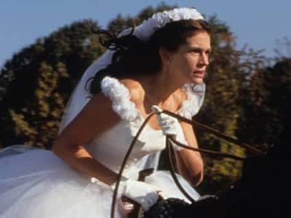 Julia Roberts as Maggie Carpenter in Runaway Bride