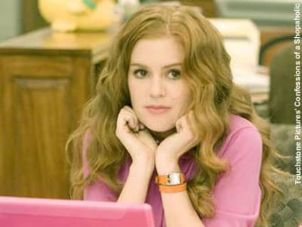 Isla Fisher in Confessions of a Shopaholic