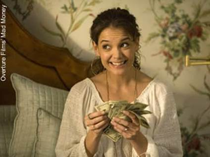Katie Holmes in Mad Money