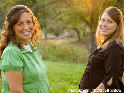 Michelle and Anna Duggar