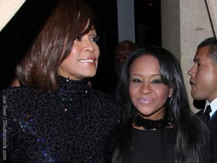 Whitney Houston and Bobbie Kristina
