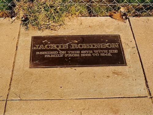 Former Site of Jackie Robinson's Home