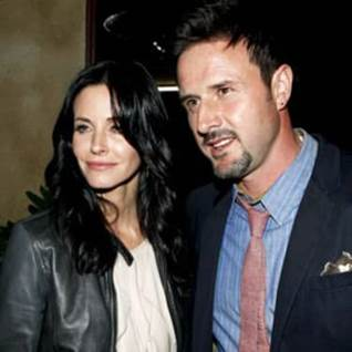 Courtney Cox and David Arquette