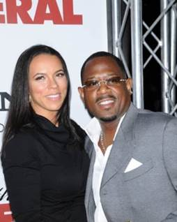 Martin Lawrence and Shamicka Lawrence