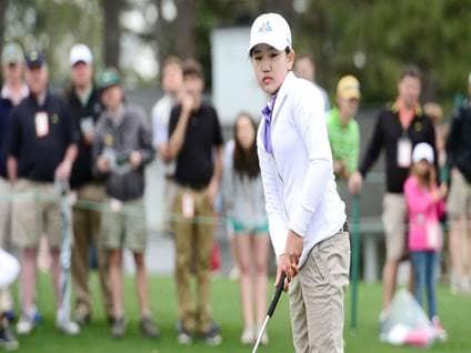 Lucy Li Golfer