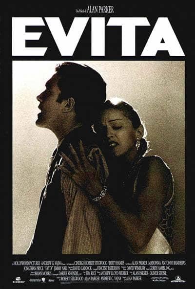 evita movie poster