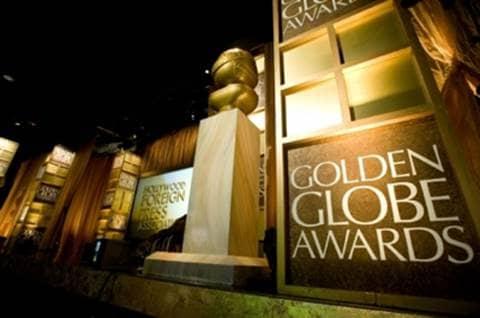 Golden Globe intro slide