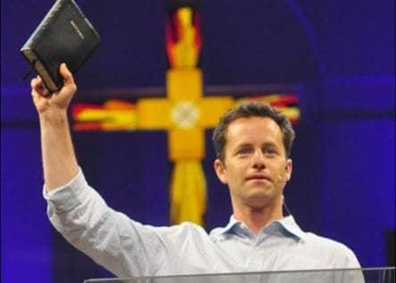 kirk cameron holding bible
