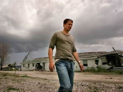 Brad Pitt Hurricane Katrina Make It Right Foundation