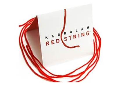 Kabbalah Red String Bracelet