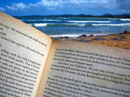 Ocean, Beach, Books, Reading, Relaxation