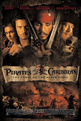 Pirates of Caribbean Movie Poster
