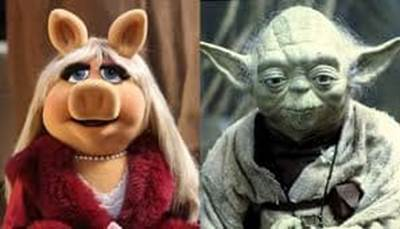 Piggy Yoda