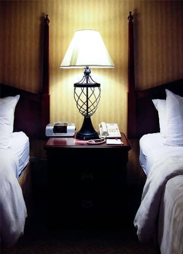 hotel lamp