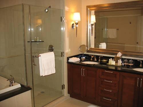 hotel shower