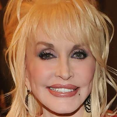 Dolly Parton faceshot