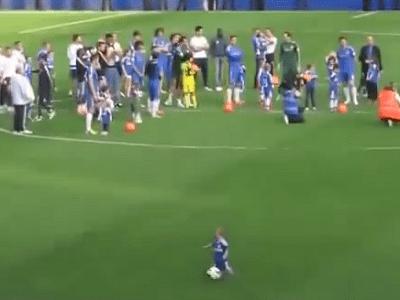Chelsea Kid Goal