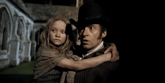 Valjean and Cosette
