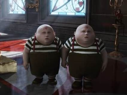 the tweedles