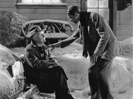Clarence the Angel in It's a Wonderful Life