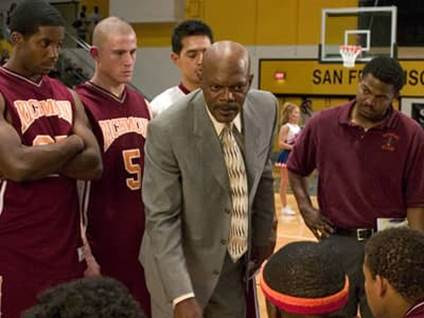 Samuel L. Jackson as Ken Carter of Coach Carter