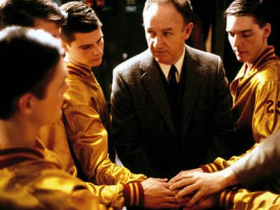 Gene Hackman as Norman Dale in Hoosiers