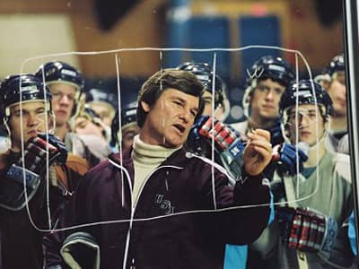 Kurt Russell as Herb Brooks in Miracle