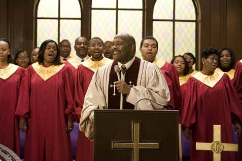 Pastor Marvin Winans in I Can Do Bad All By Myself