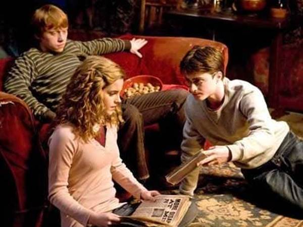 Ron Harry Hermione