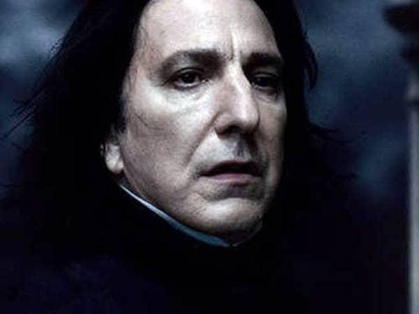 Alan Rickman Severus Snape