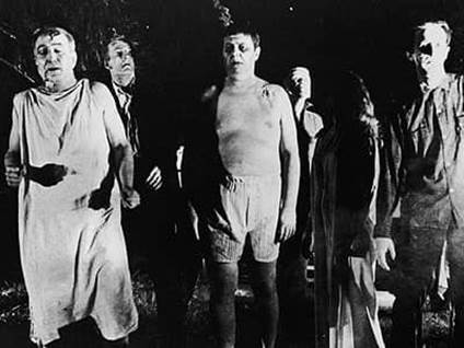 Zombies of Night of the Living Dead movie 1968