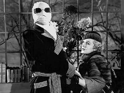 Dr. Jack Griffin in the invisible man movie 1933
