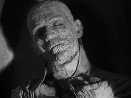 Imhotep in The Mummy movie 1932