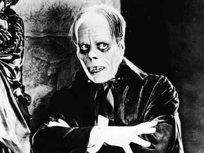 The Phantom in The Phantom of the Opera movie 1925