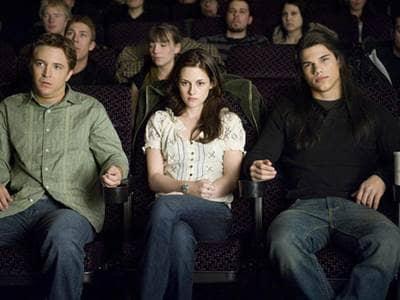 Bella at Movie Theatre
