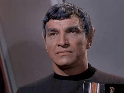 Sarek in Star Trek Journey to Babel