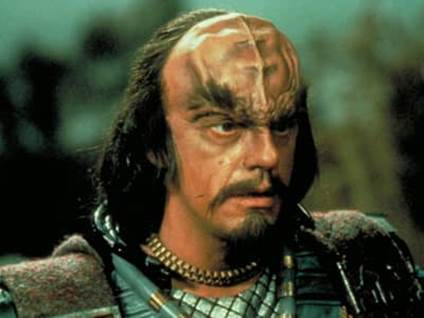 Klingon in Star Trek III: The Search for Spock