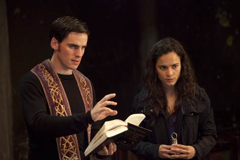 Colin O'Donoghue and Alice Braga in 'The Rite'