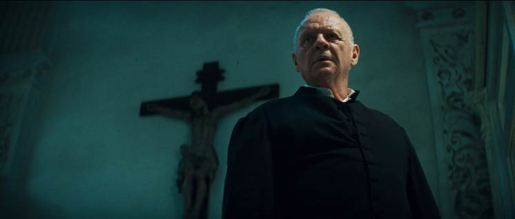 Anthony Hopkins in 'The Rite'