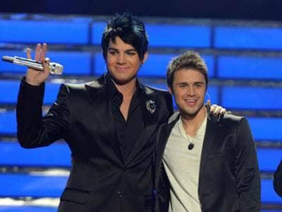 Adam Lambert and Kris Allen