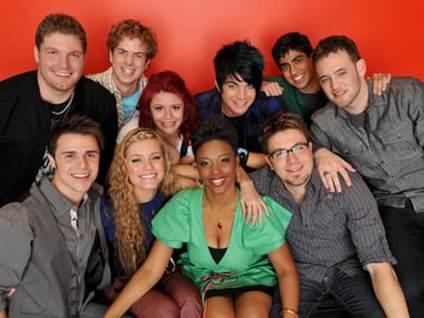American Idol Season 8 Top 10